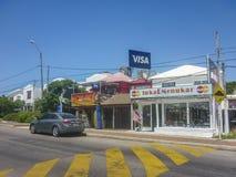Sunny Day em Punta del Este, Uruguai Fotos de Stock