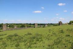 Sunny Day en el priorato Thomastown Kilkenny Irlanda de Kells Imagenes de archivo