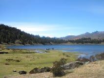Sunny Day en los Andes imágenes de archivo libres de regalías
