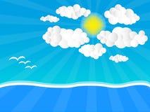 Sunny Day. A sunny day go on holiday Stock Photos