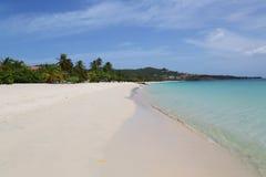 Sunny day at Grand Anse Beach in Grenada. Stock Photo