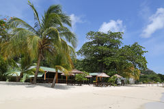 Sunny day at Grand Anse Beach in Grenada. Stock Images