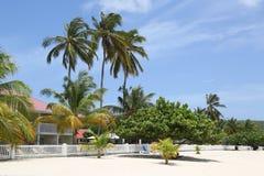 Sunny day at Grand Anse Beach in Grenada. Stock Photography