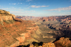 Sunny day in the Grand Canyon Royalty Free Stock Images