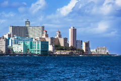 Sunny day in Havana Stock Photos