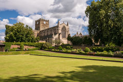 Sunny day at Hexham Abbey Stock Images