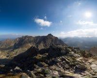 Sunny day high in mountains. Sunny day high in Tatra Mountains (Tatry), Zakopane, Poland stock image