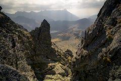 Sunny day high in mountains. Sunny day high in Tatra Mountains (Tatry), Zakopane, Poland stock photography