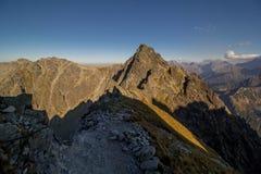 Sunny day high in mountains. Sunny day high in Tatra Mountains (Tatry), Zakopane, Poland stock images