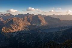 Sunny day high in mountains. Sunny day high in Tatra Mountains (Tatry), Zakopane, Poland royalty free stock photo