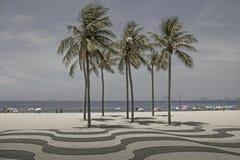 Sunny day at Ipanema Beach in Rio de Janeiro, Brazil. stock photos