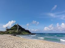 Pyramid Rock Beach on Oahu Royalty Free Stock Images