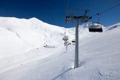 Sunny day in italian Dolomites Royalty Free Stock Photography