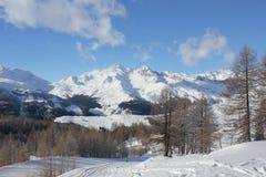 Sunny day in Italy Winter season Royalty Free Stock Photography