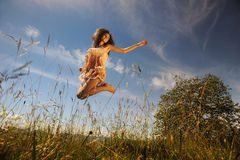 Sunny day and joy of living Royalty Free Stock Photography