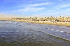 Sunny Day à la plage Image libre de droits