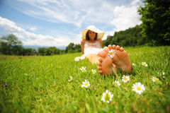 Sunny day and Leisure Royalty Free Stock Image