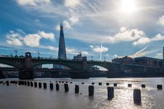 Sunny day in London. UK Royalty Free Stock Photos