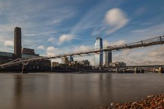 Sunny day in London. UK Royalty Free Stock Images