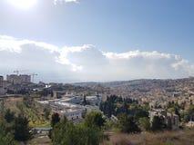 Sunny Day in Nazareth stock image