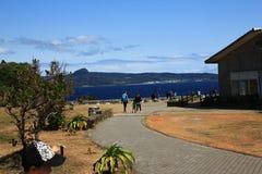 Sunny day near the sea Stock Image