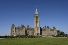Sunny Day no monte do parlamento Foto de Stock Royalty Free