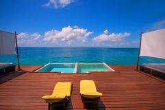 Sunny Day no recurso tropical Foto de Stock Royalty Free