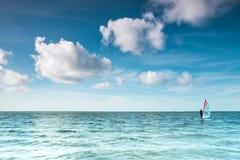 Sunny Day på Nordsjön Arkivfoton
