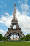 Sunny day in Paris Royalty Free Stock Images