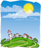 Sunny day pict Royalty Free Stock Images