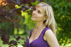 Sunny day portrait. Royalty Free Stock Photography