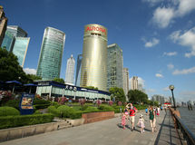 A Sunny Day in Pudong Royalty Free Stock Photos