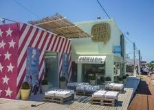 Sunny Day in Punta del Este, Uruguay Royalty Free Stock Photo
