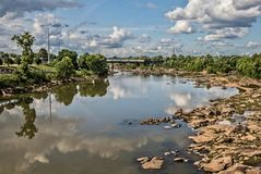 Sunny Day Reflections stockfotografie