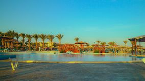 Sunny day in resort. royalty free stock images