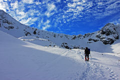 Sunny day in Retezat mountains, Romania Stock Photo