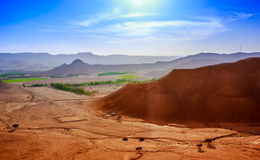 A sunny day in riyadh Royalty Free Stock Image