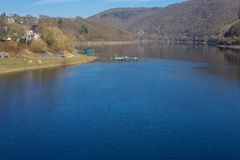 A sunny day on Rur lake Stock Image