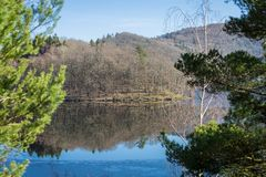 A sunny day on Rur lake Royalty Free Stock Photography