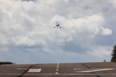 power glider u-turn to start royalty free stock photos