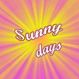 Sunny days Stock Photo