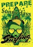 Sunny days. Prepare for sunny days royalty free illustration