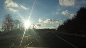 Sunny daze. Road trip adventures stock image