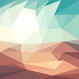 Sunny Desert Background illustration de vecteur