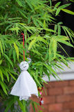 Sunny doll  Japanese hang it to pray for good weather Stock Photography