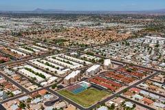 Sunny East Mesa, AZ With Sunshine And Snowbirds Stock Photography