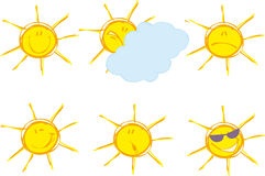 Sunny emotions Stock Image