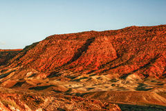 Sunny evening in Arches Canyon Royalty Free Stock Photo