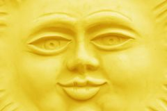Sunny Face Front Royalty Free Stock Image