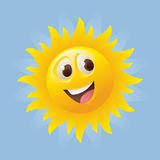 Sunny Face Royalty Free Stock Image